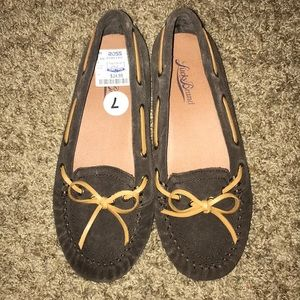 Lucky Brand brown moccasins women's size 7